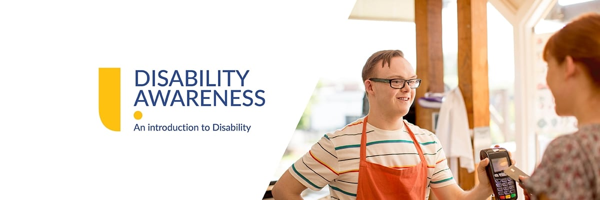 Banner for Introduction to disability awareness